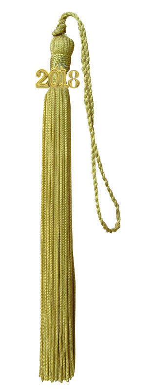 Light Gold Graduation Tassel