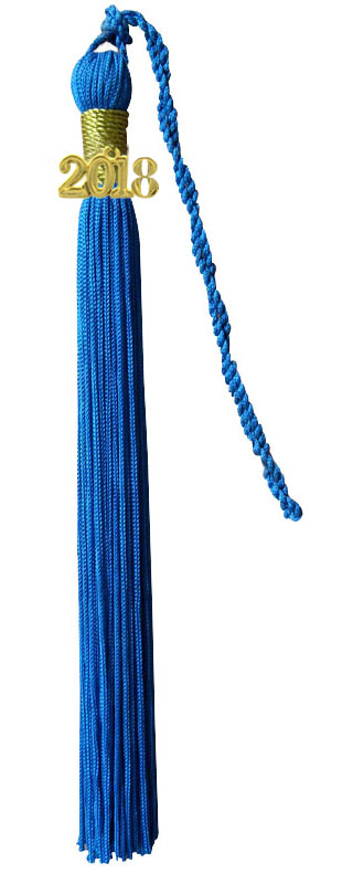 Royal Blue Graduation Tassel